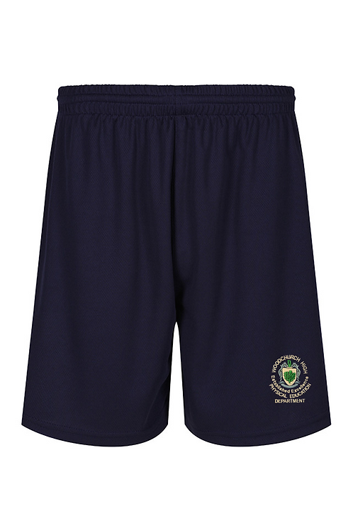 Navy Woodchurch PE Shorts (Unisex)