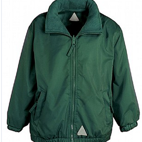 Green Rev. Coat (Plain or with Bedford Drive Logo)