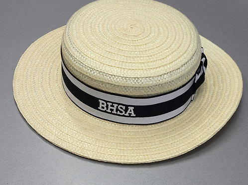 BHSA Straw Boater (Summer)