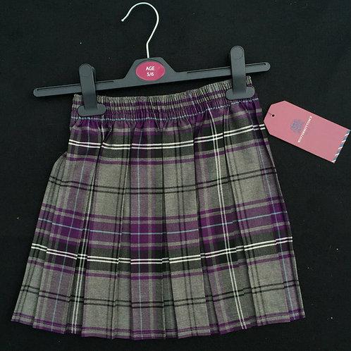 Poulton Lancelyn Box Pleat Skirt