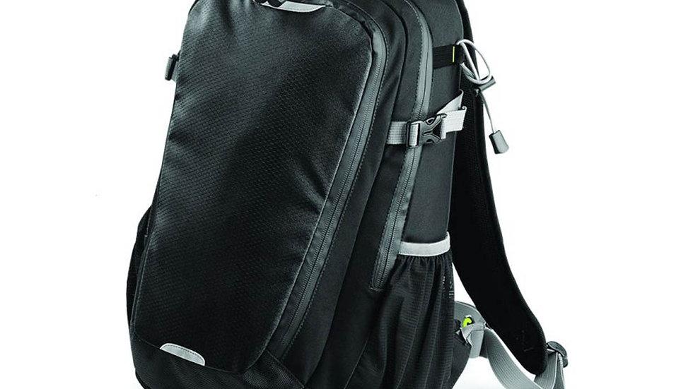 Black Quadra School Bag