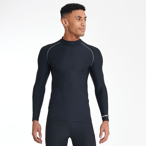 Black Cool Long Sleeve Baselayer