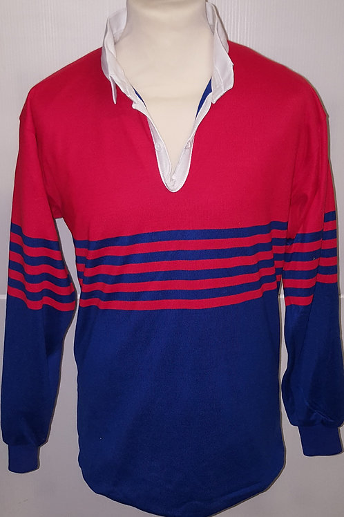 Red/Blue Rugby Top