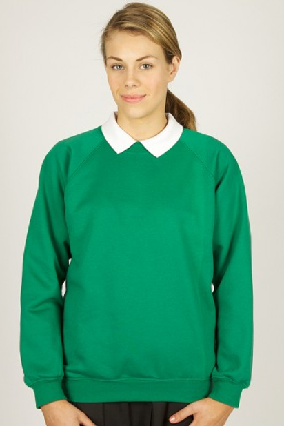 Emerald Green Sweatshirt with Irby Pre Logo