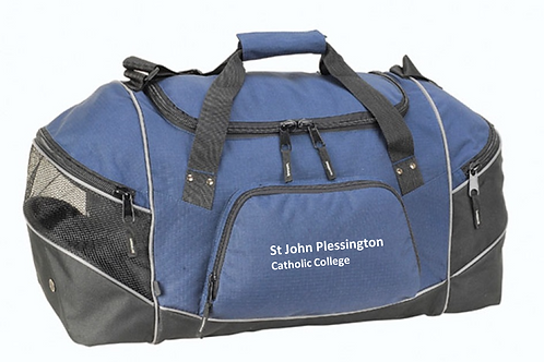Navy Holdall with SJP Logo Embroidered