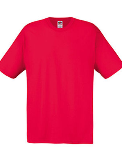 Red PE T-shirt with St Joseph's (Prenton) logo