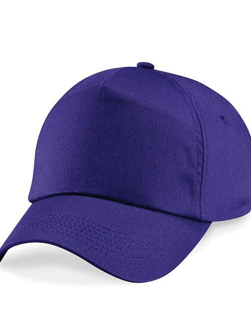 Purple Beechfield Baseball Cap