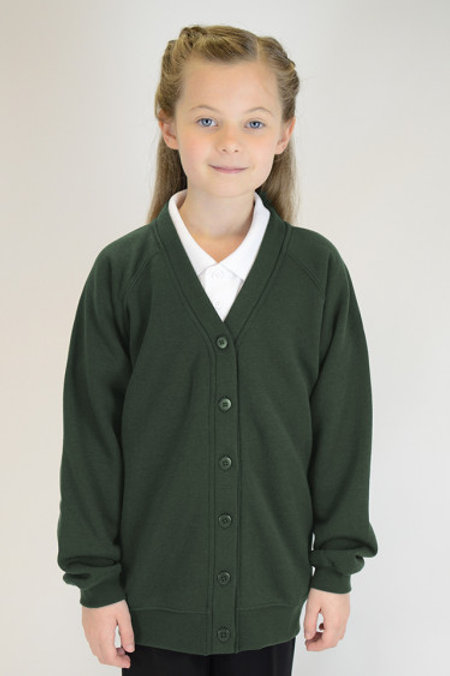 Green Bedford Drive Sweatcardy
