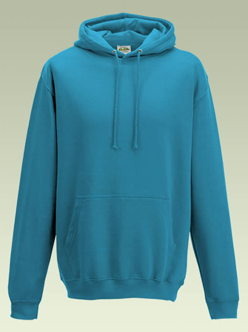 Turquoise Surf AWD College Hoodie (JH001)