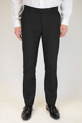 Black Slim Leg Trouser