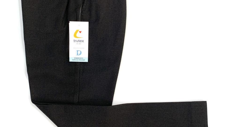 Trutex Charcoal Slim leg Trousers