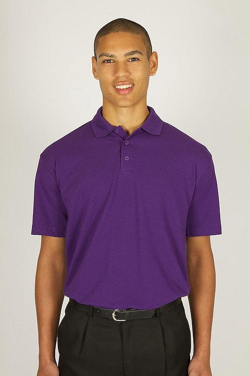 Plain Purple Trutex Polo