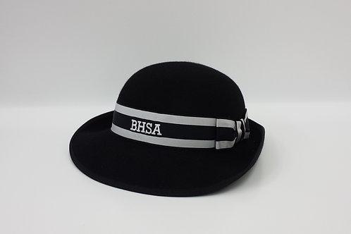 BHSA Black Felt Hat (Winter)
