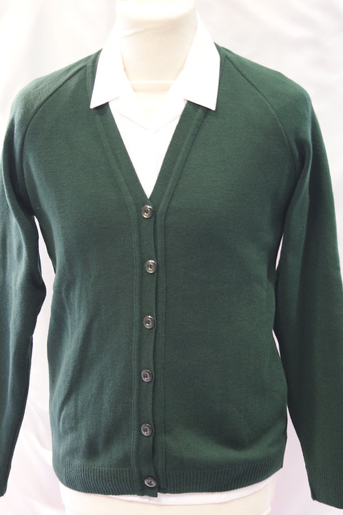 Green Courtelle Knitted Cardigan