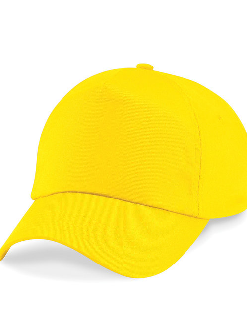 Yellow Beechfield Baseball Cap