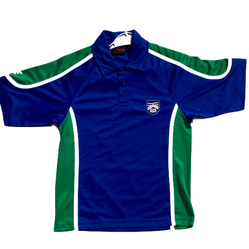 Wirral Grammar PE Polo (in House Colours)