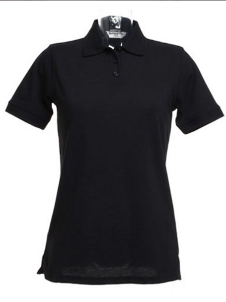 Black KK703 Women's Klassic Polo