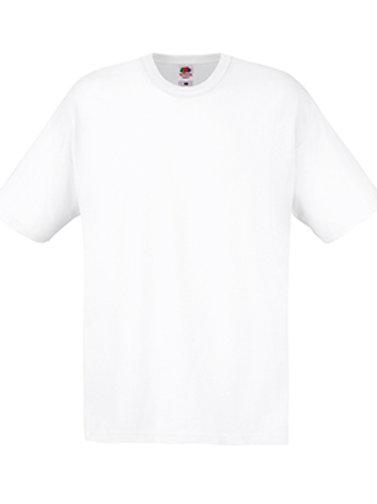White Fruit of the Loom Original T-shirt