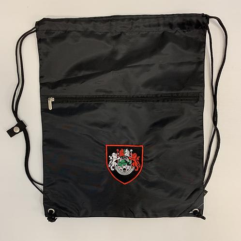 Black PE Bag with BPS logo