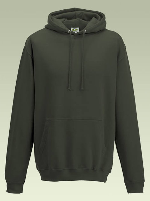 Olive Green AWD College Hoodie (JH001)
