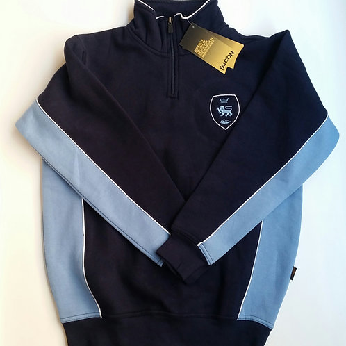 Falcon 1/4 Zip Fleece Jacket with Pensby Logo