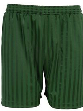 Green Striped Shorts (plain or with logo)