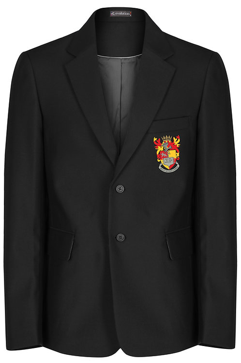 Black Senior Boys Jacket