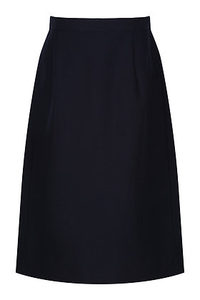 Navy Prenton A-Line Skirt