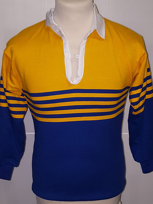 Yellow/Blue Rugby Top