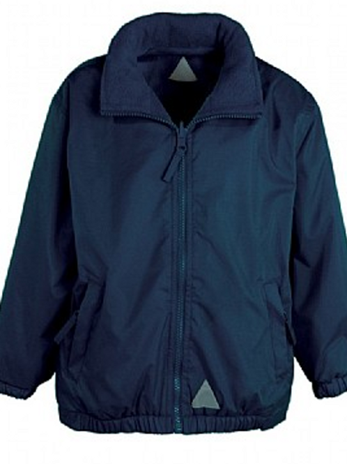 Navy Rev. Coat (Plain or with Woodlands Logo)