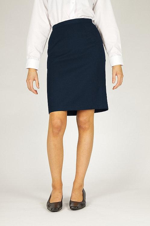 Navy Trutex A-Line Senior Skirt