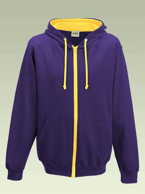 Purple / Yellow AWD Varsity Zoodie JH053