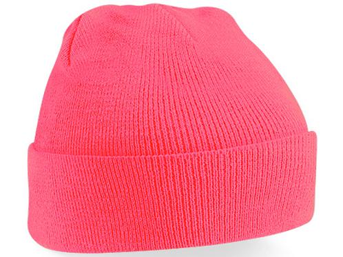 Fluorescent Pink B45 Original Cuffed Beanie