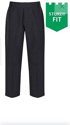 Black Sturdy Fit Caribou Trousers