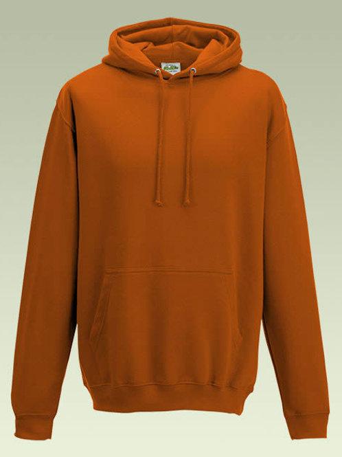 Burnt Orange AWD College Hoodie (JH001)