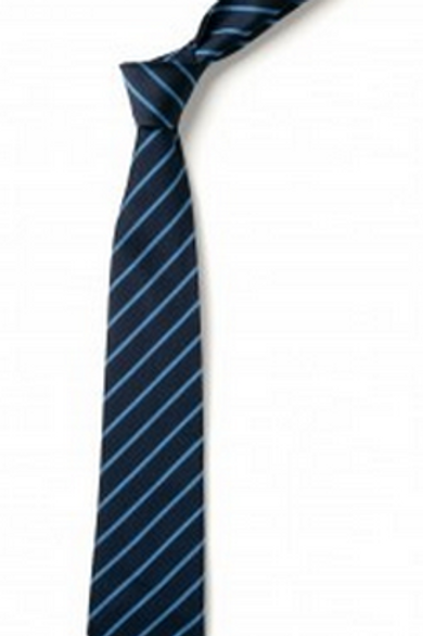 Green and Gold Thin Striped Tie (No.32)