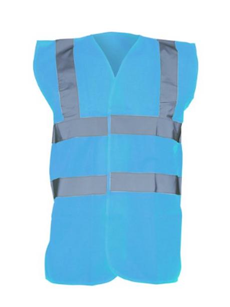 Sapphire Blue Hi-Vis Vest  (Yoko YK001)