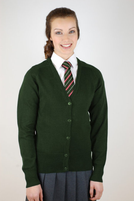 Green Bedford Drive Courtelle Cardigan