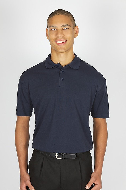 Plain Navy Trutex Polo