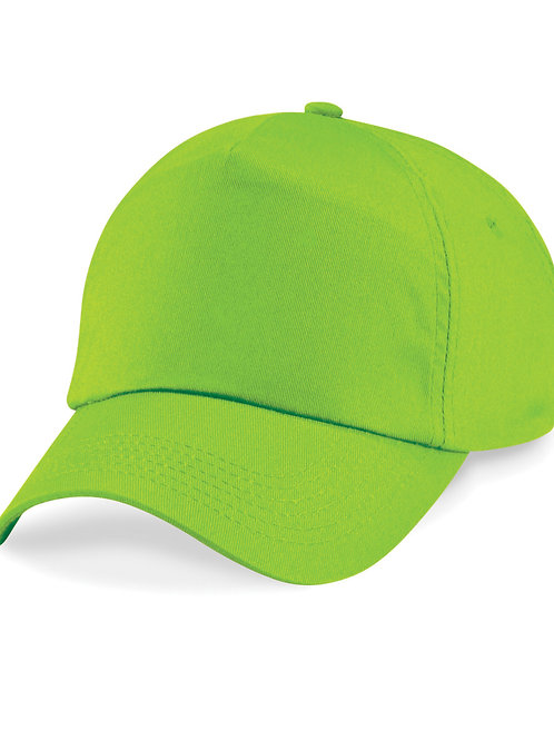 Lime Green Beechfield Baseball Cap