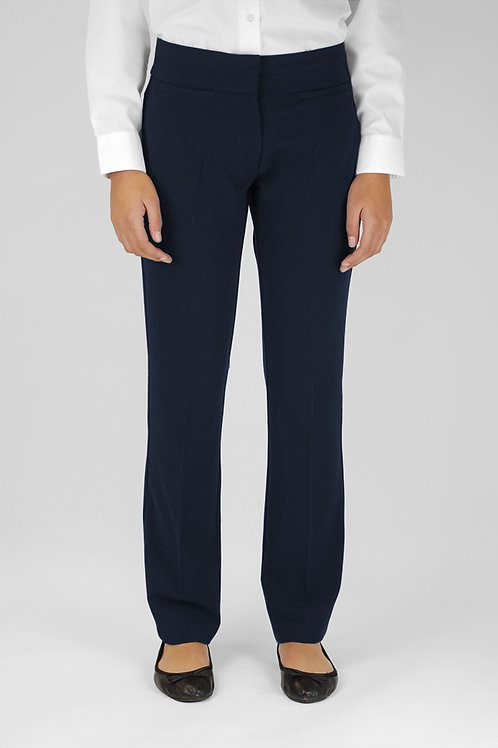 Navy Trutex Girls Trousers