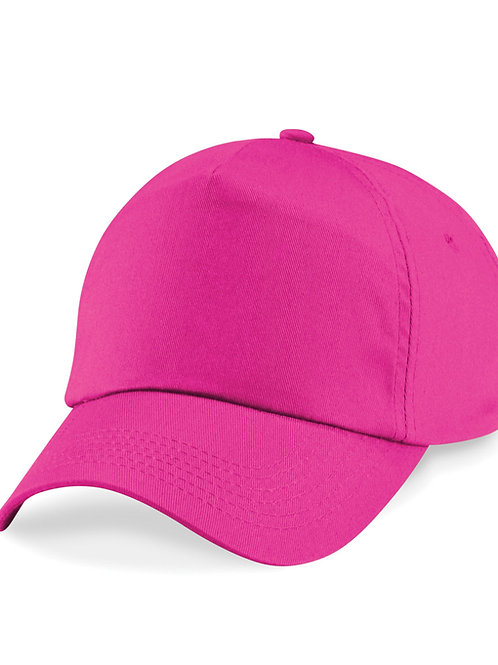 Fuchsia Beechfield Baseball Cap