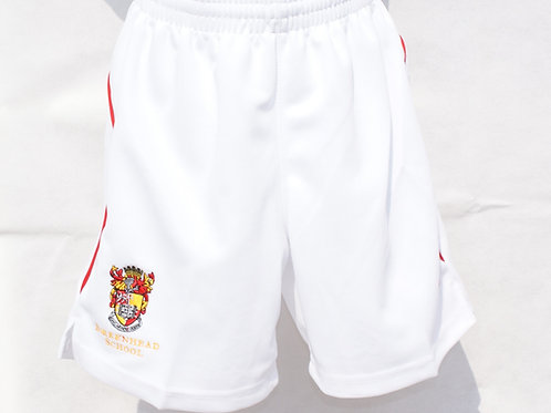 White Shorts with House Colour