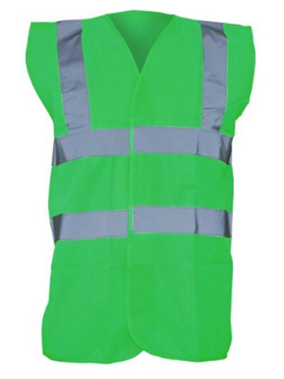 Green Hi-Vis Vest  (Yoko YK001)