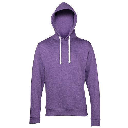 Heather Purple Hoody