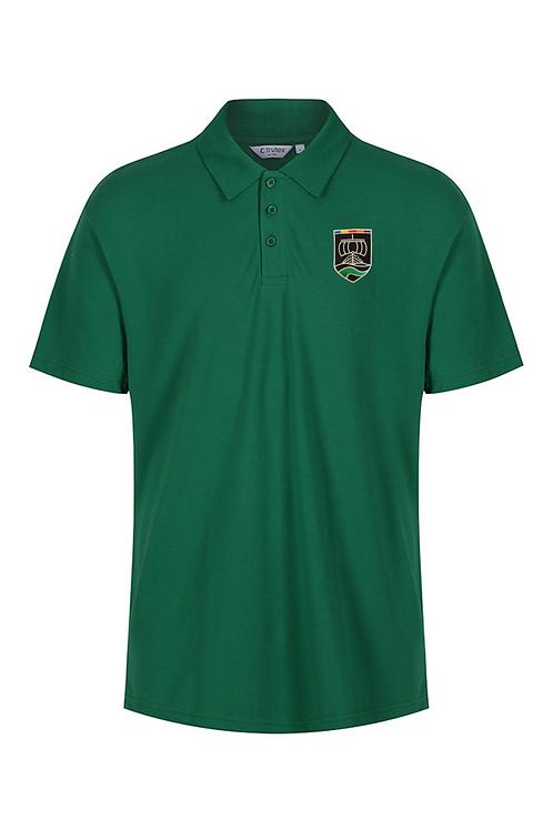 Green PE Polo with Neston Logo (Girls)