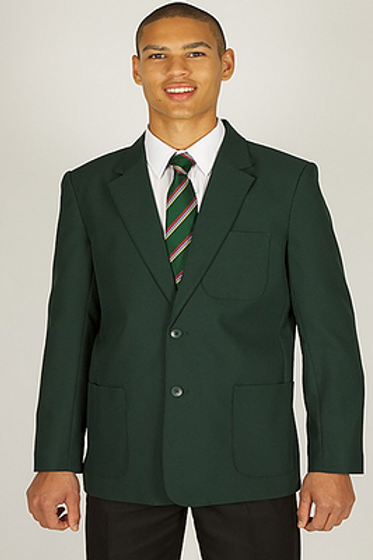 Green Blazer with Bedford Drive Logo
