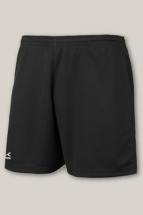 Black Trutex PE Shorts Plain