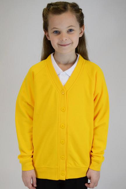 Yellow Plain Trutex Sweatcardy