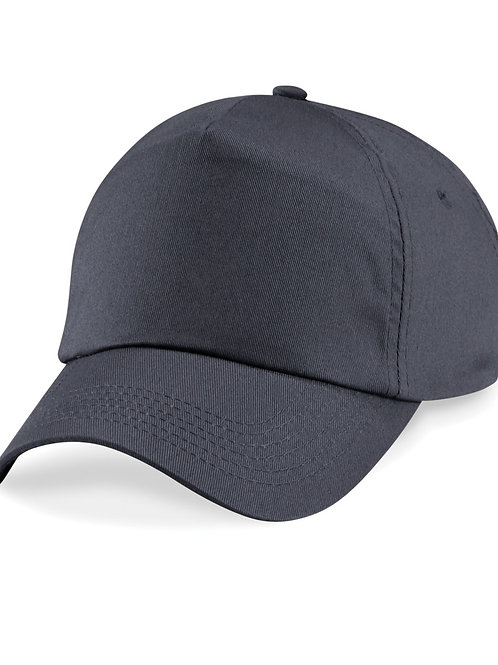 Graphite Beechfield Baseball Cap